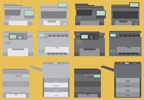 Vetores de fotocopiadora