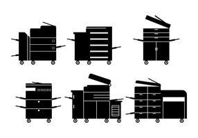 Vector de fotocopiadora