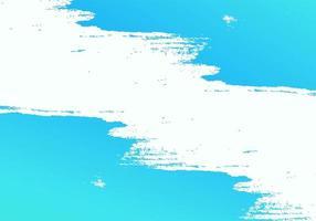 textura de pincelada azul vetor