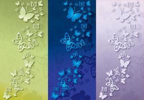 Fundo Papillon Color vetor