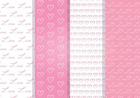 Love Seamless Pattern vetor
