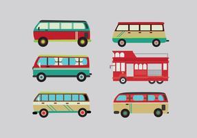 Vetor de minibus