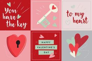 Coração livre e vetor de amor