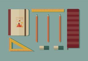 Vetor de caso de lápis