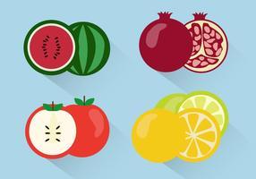 Vetor de frutas grátis