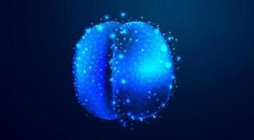 células virais covid-19 que se fundem vetor