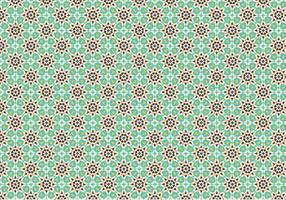 Fundo padrão do mosaico verde vetor