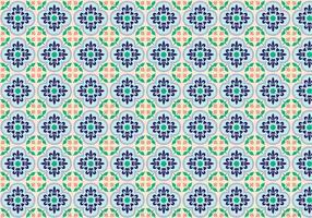 Vetor de padrão decorativo de mosaico