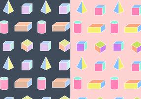 Vector de padrões geométricos sem costura grátis