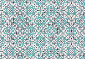 Fundo do padrão da folha do mosaico do vetor