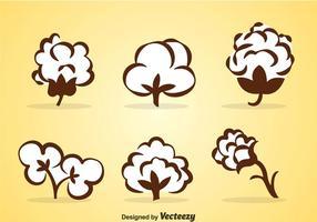 Conjuntos de vetores de algodão