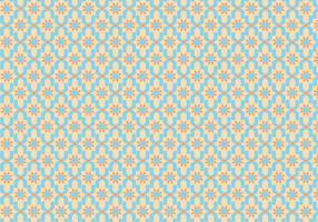 Vector de padrão de azulejo marroquino