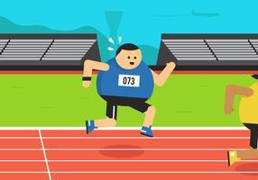 Guy Guy Running vetor