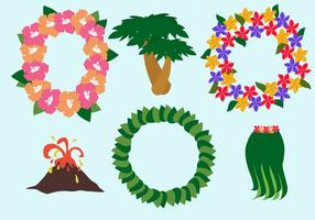 Vetor de lei havaiano grátis