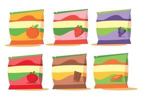 Embalagem vetorial de frutas vetor