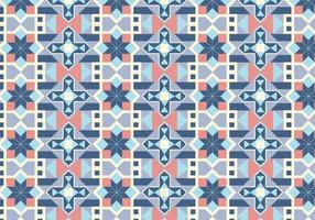 Fundo geométrico de padrão de azulejos vetor
