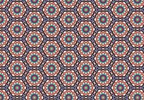 Fundo de padrão de mosaico de diamante vetor