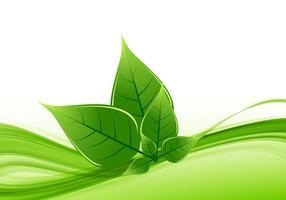 Cartão de Visita Eco Friendly vetor