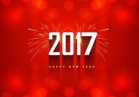 Ano Novo 2016 Cartão Com Fogo De Artifício