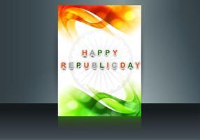 Festa feliz do dia da república vetor