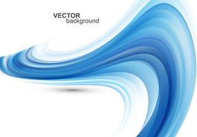 Fundo abstrato da onda azul vetor
