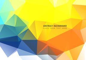 Fundo abstrato triangular poligonal