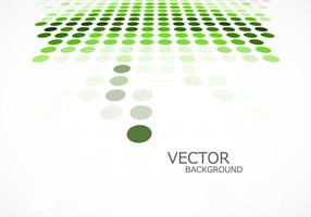 Fundo verde pontilhado vetor