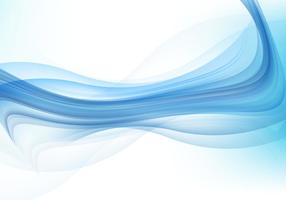 Fundo abstrato da onda azul