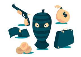 Conjunto de vetores ladrão