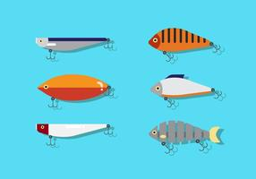 Atração de pesca vetorial vetor