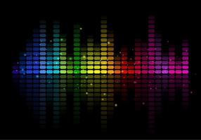 Abstrata Free Vector Music Equalizer