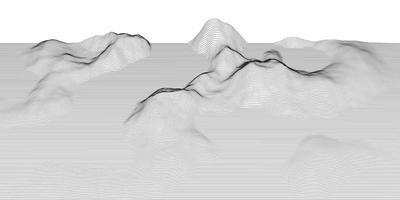 paisagem abstrata techno vetor