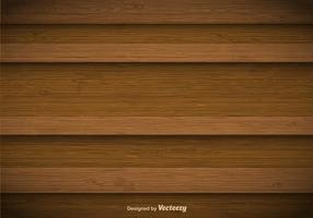 Fundo de madeira do vetor