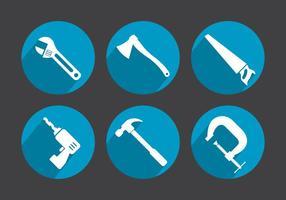 Ícones do vetor de ferramentas