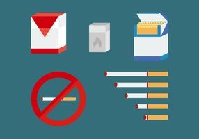 Pacote de vetores para fumadores gratuitos
