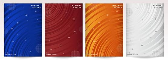 conjunto de capa de linha rcurved dinâmica