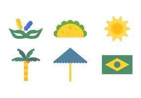 Conjunto de vetores do Brasil grátis # 1