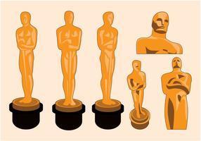 Vector da estátua do Oscar
