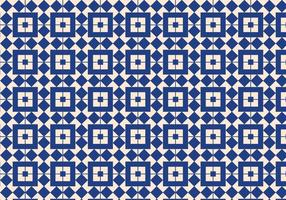 Fundo de padrão geométrico azul vetor