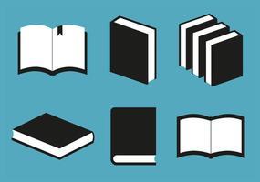 Vetor de livros grátis