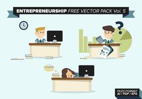Empreendedorismo Free Vector Pack Vol. 5