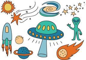 Vetores do espaço livre