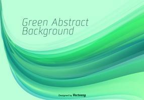 Fundo abstrato verde do vetor