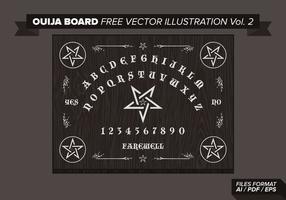 Ouija Board Ilustração vetorial grátis Vol. 2 vetor