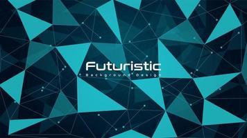 fundo moderno tecnologia futurista vetor