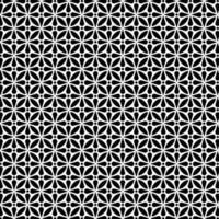 padrão sem emenda de forma floral circular vetor