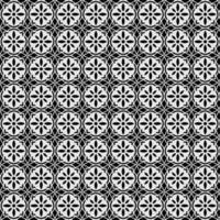 padrão sem emenda de mandala de flor geométrica vetor