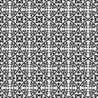 padrão sem emenda floral circular ornamental vetor