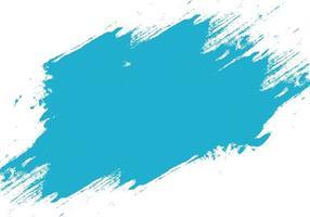 textura de pincelada azul moderno grunge vetor