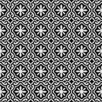 padrão sem emenda de folhagem ornamental vetor